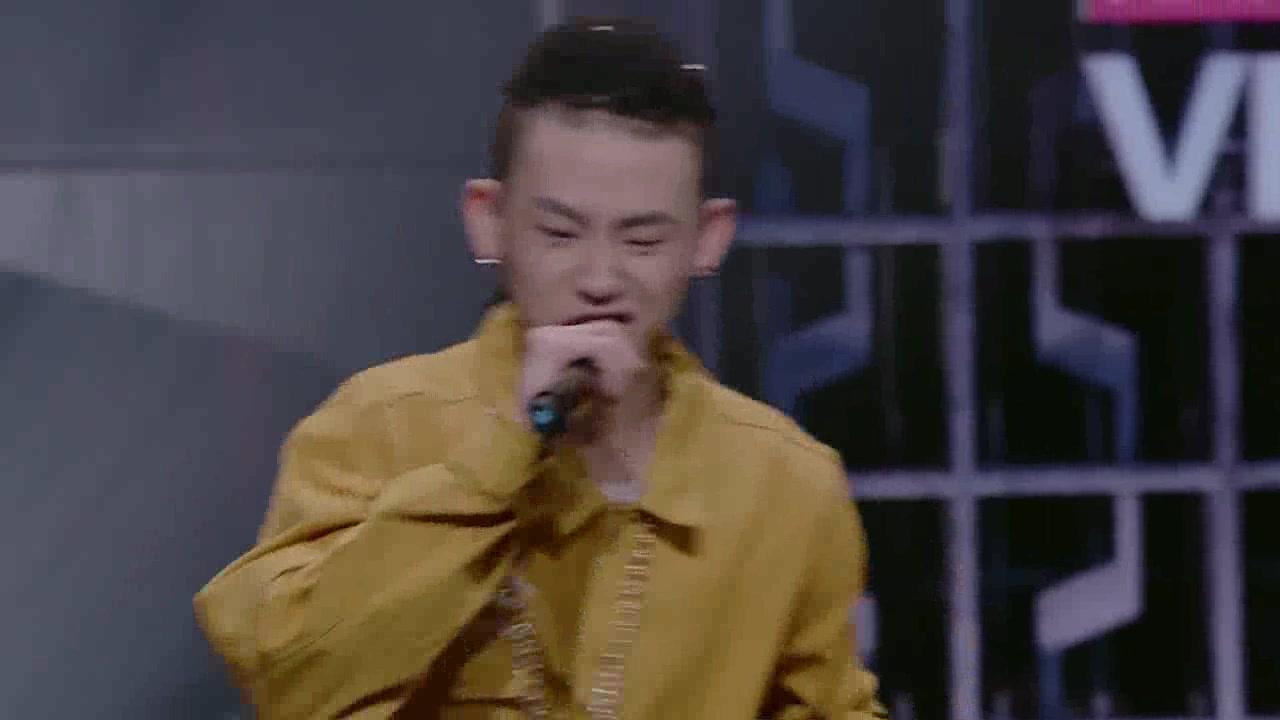 《中国有嘻哈》小鬼酷炫节目广告rap图片