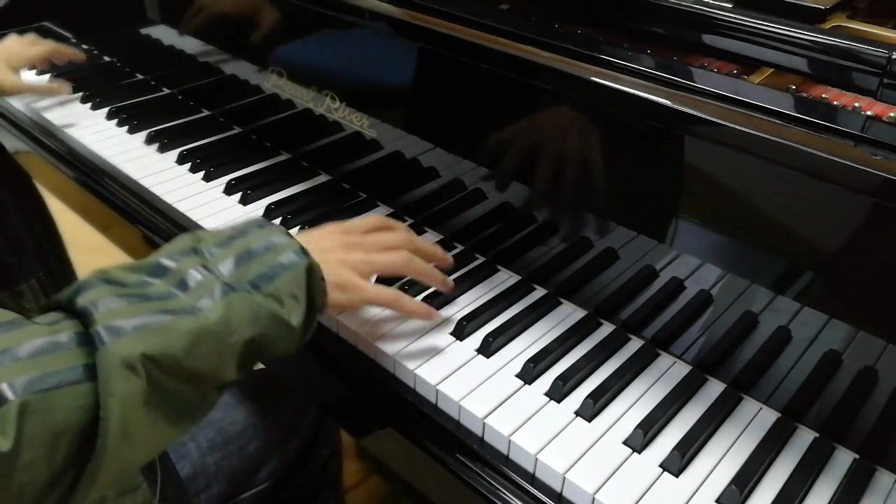 【钢琴】高能unravel图片