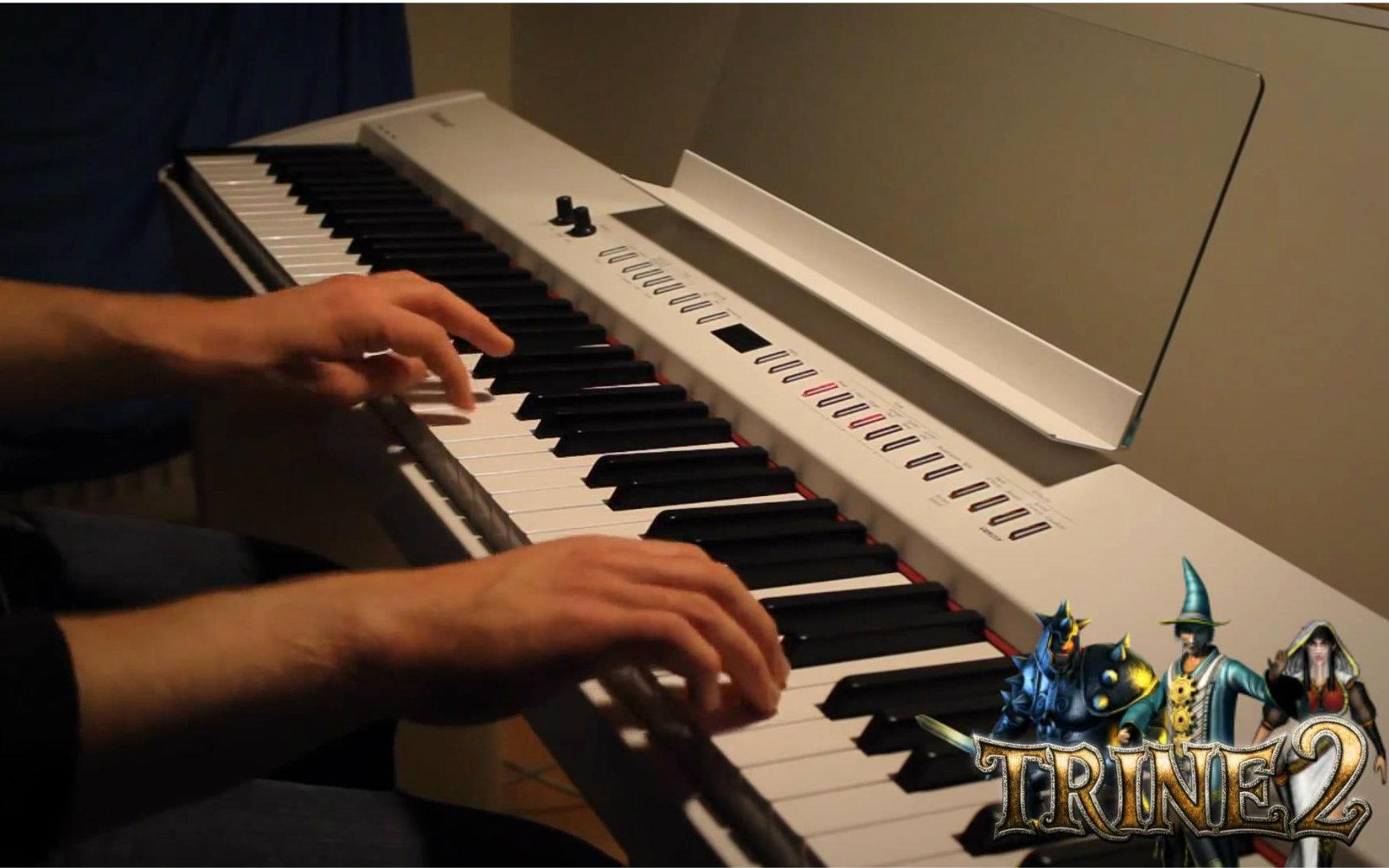 平凡之路钢琴简谱图片