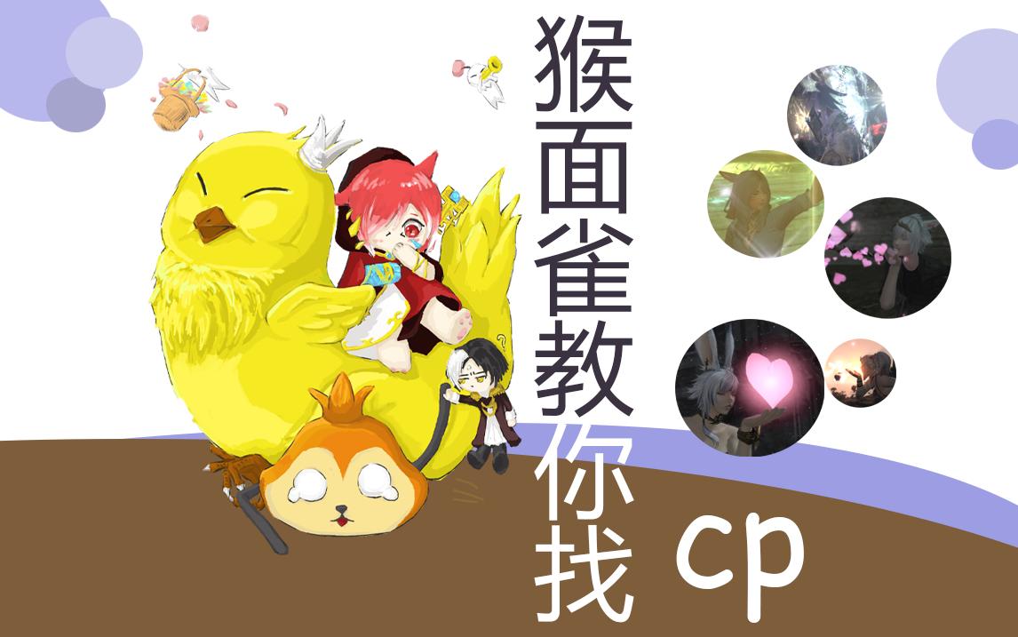 【FF14】【陆行鸟养成】猴面雀教你找CP