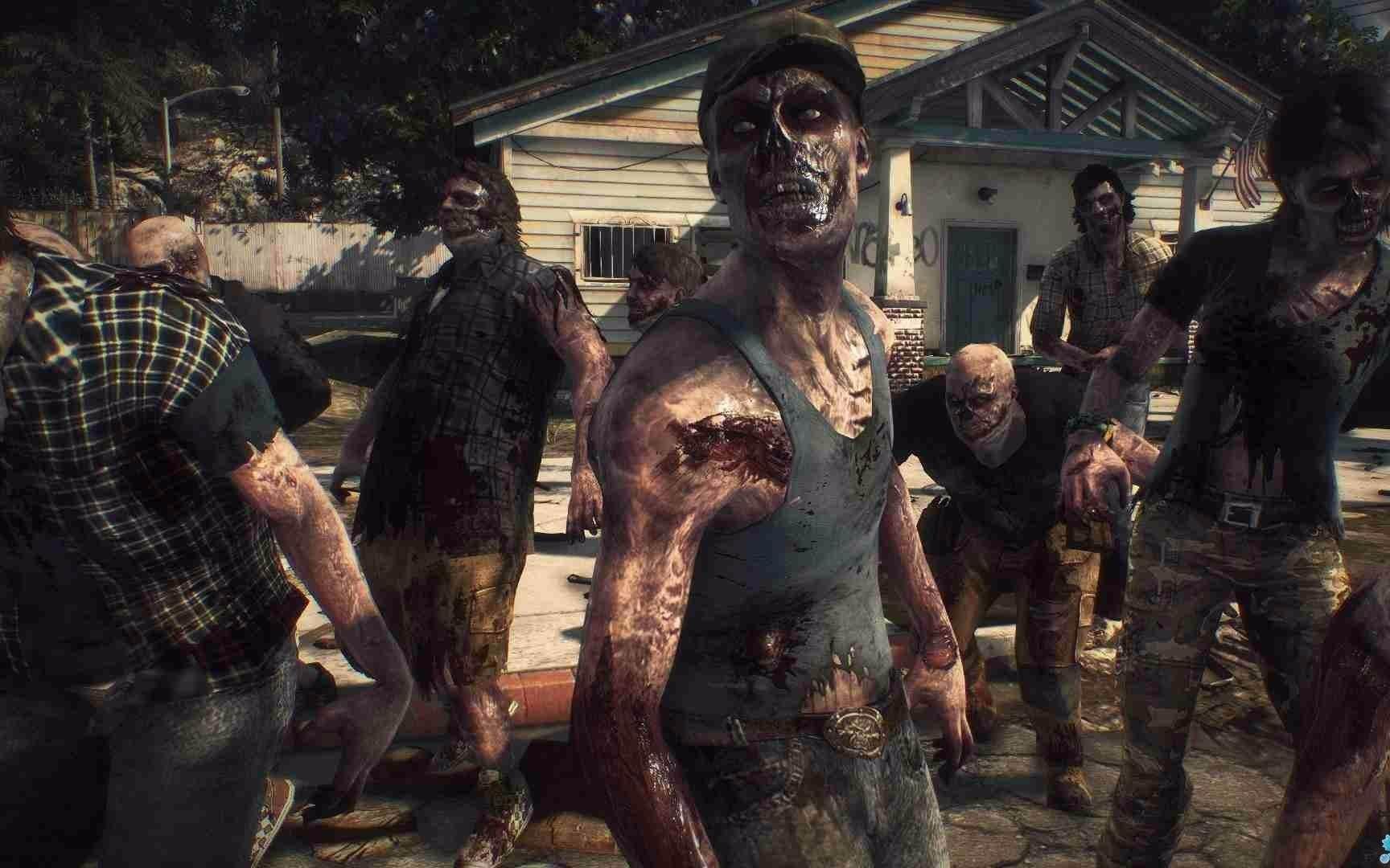 呢个有四个人打僵尸的呢个游戏叫什么?