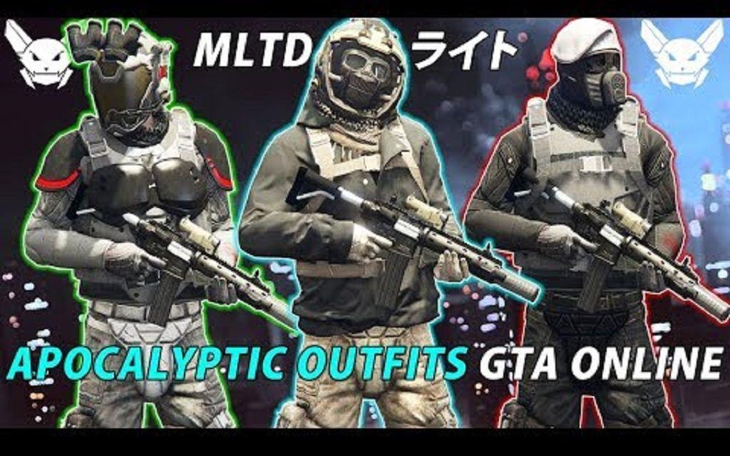 【GTA5】MILITATED的服装教程 | 线上1.46'竞技场之战'前三名BUG服装搭配—1st