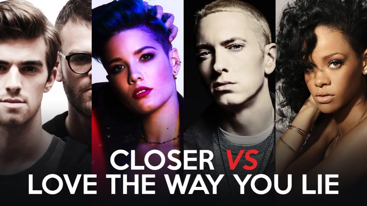 【混音remix】烟鬼的closer遇上姆爷的love the way you lie(第一版)