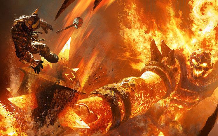 《炉石传说》炎魔之王拉格纳罗斯全中文语音彩蛋