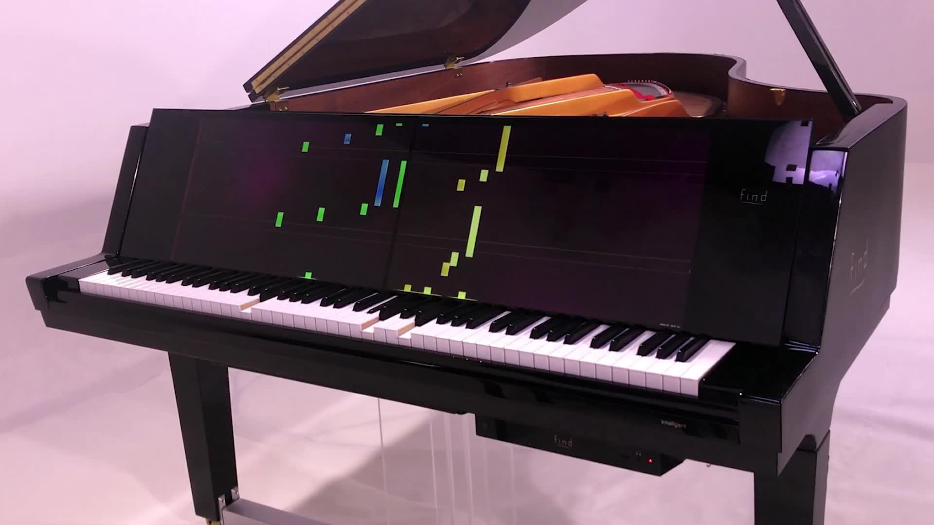 理由find智慧钢琴自动演奏图片