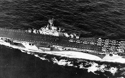 海战世界 萌新航母埃塞克斯撕飞机日常
