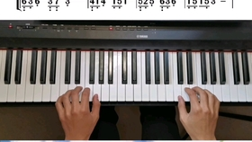 简谱入门第6_钢琴简谱入门