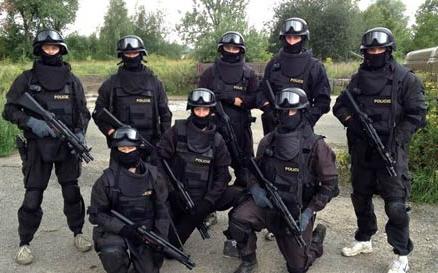 美国S.W.A.T特警日常作战训练