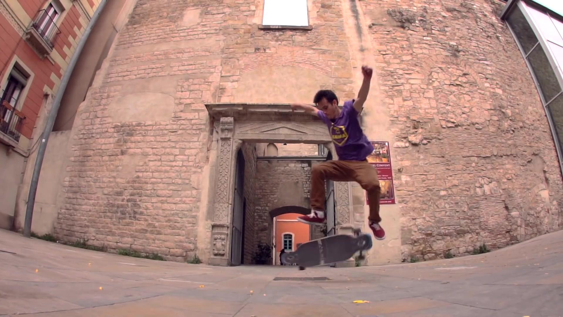 【贴地飞行】【长板DC/FS】Original Skateboards - Two Minutes with Nil Bellmunt