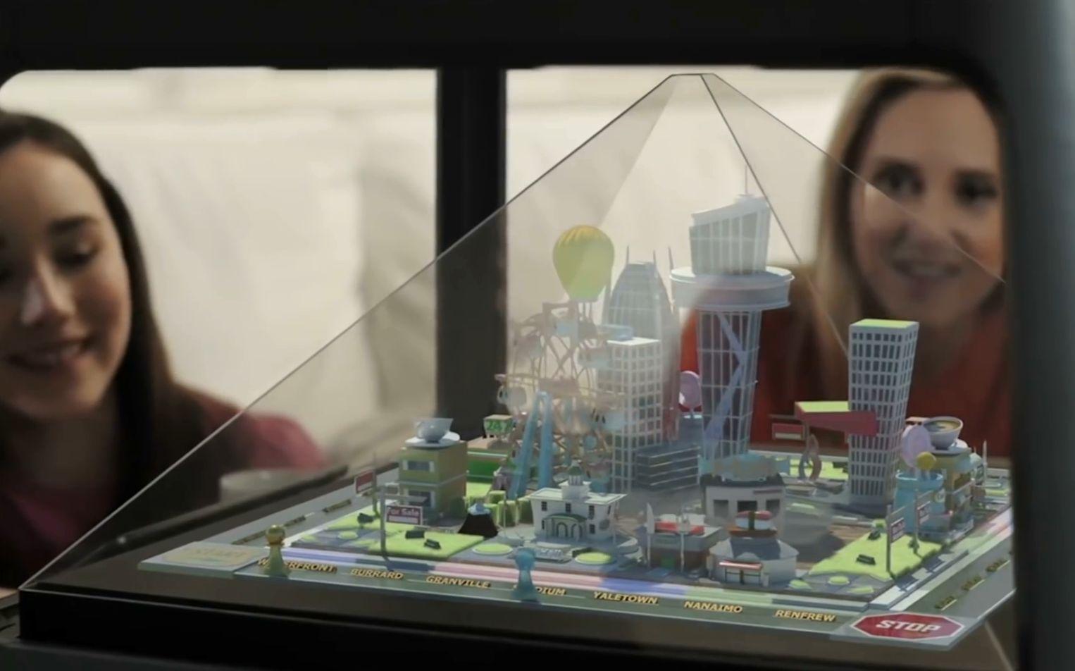 【手工制作】两分钟:教你制作一个手机3d全息投影,高科技产品立马拥有
