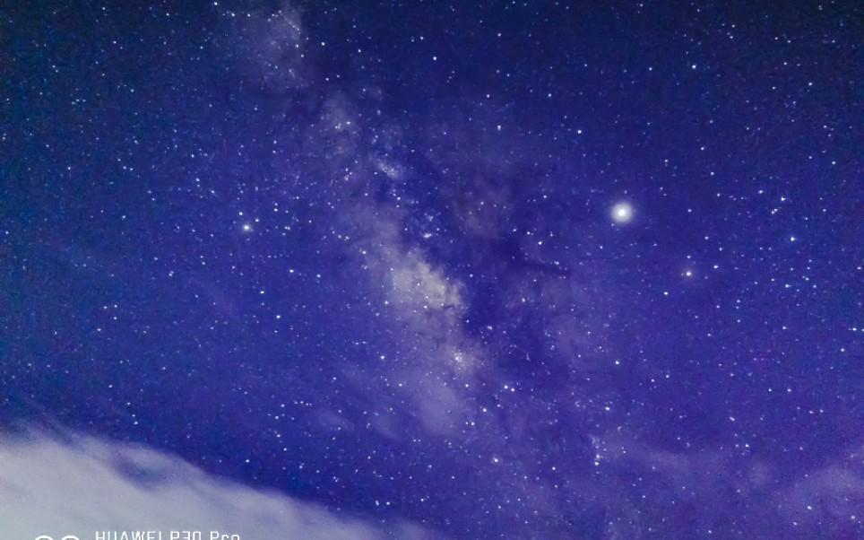 如何使用p30 pro拍摄银河