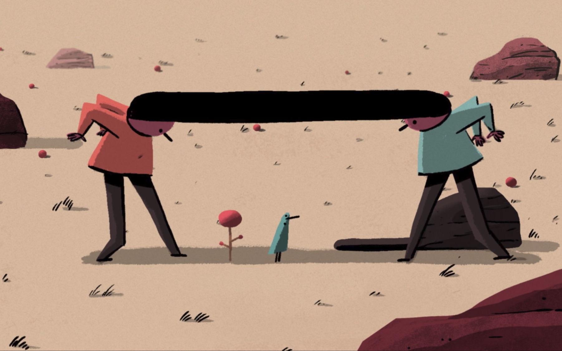 【动画短片】世上没有孤立的人,我们都有千丝万缕的联系