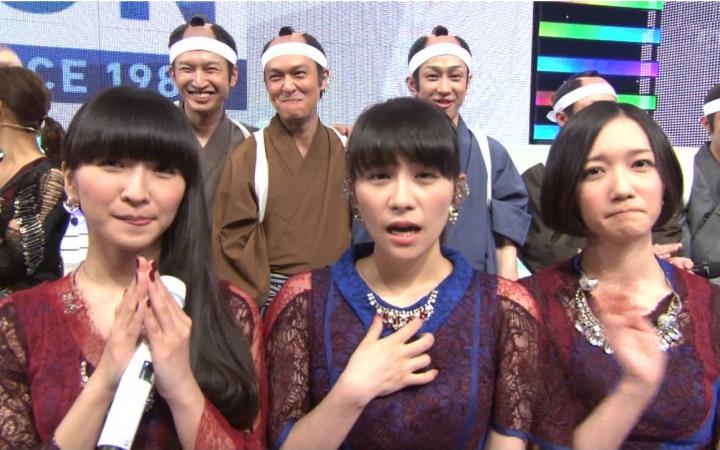 【PerfumeANY字幕组】2015.11.13.Music Station.STAR TRAIN + Talk