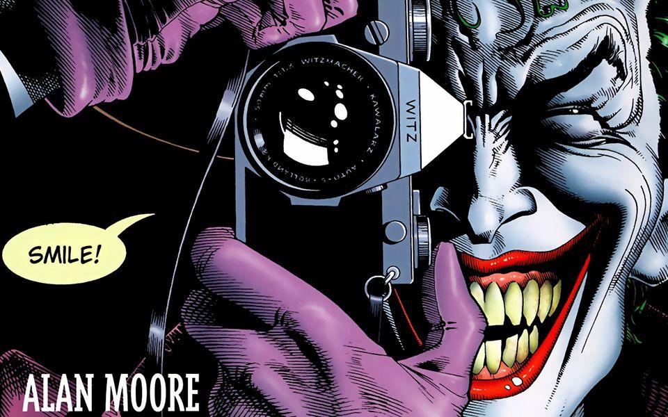 小丑的神作《致命玩笑》,DC排名前五的作品