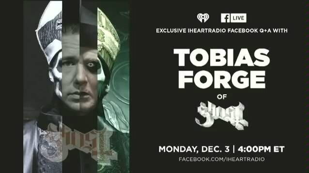 tobias forge (ghost b.c.) interview