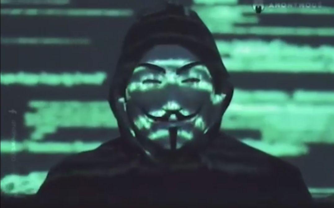 """黑客团体""""匿名者""""发布视频:揭露大量美国警局罪行"""