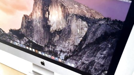 苹果apple retina 5k屏imac一体电脑开箱,性能测试图片