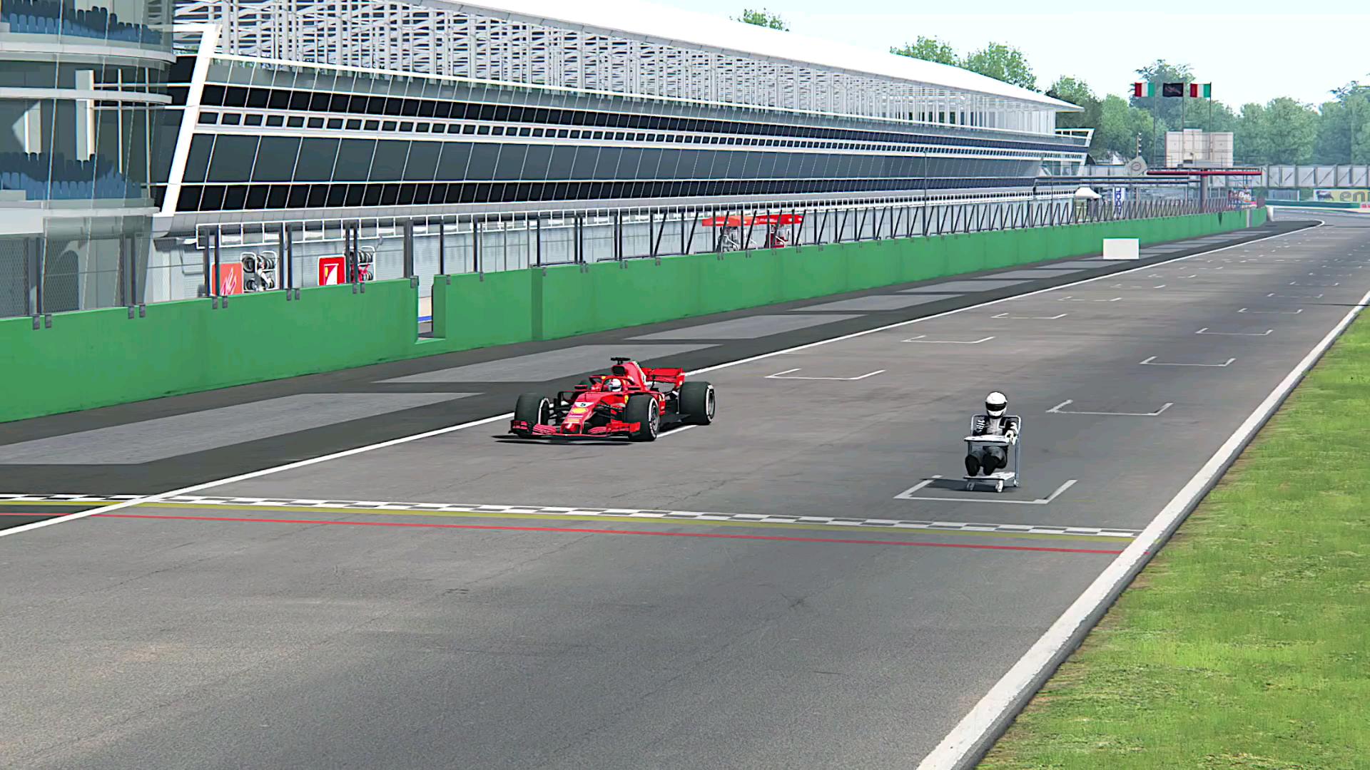【FlashTV(R)】F1 vs 婴儿车???
