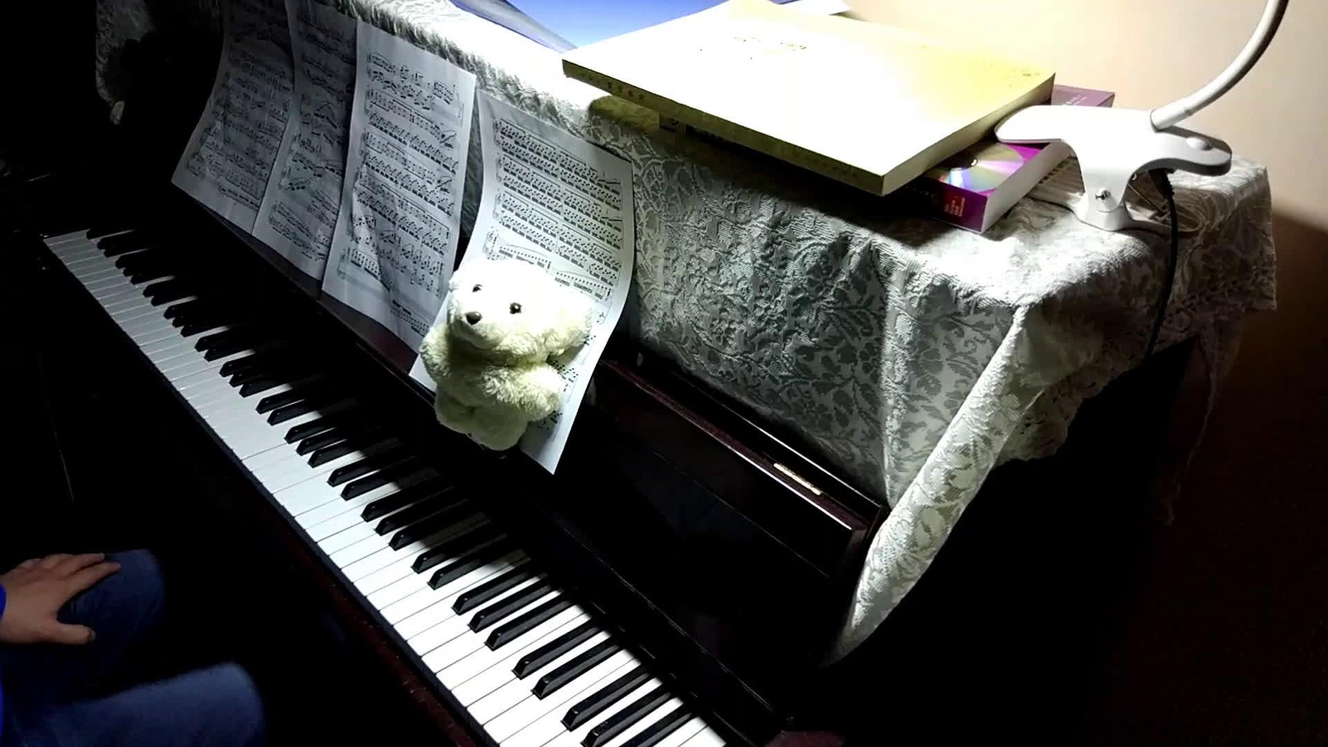 【leon的小熊饼】my dearest,a叔版,钢琴演奏图片