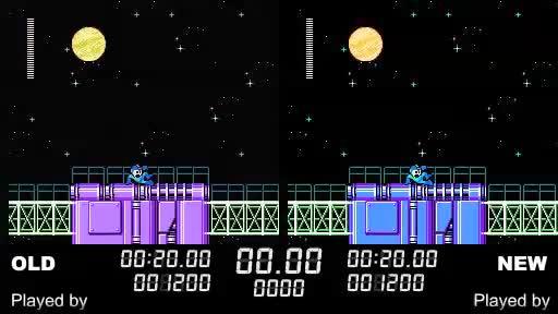 【比较版】TAS NES Mega Man 5(USA) in 31:41.68 by GlitchMan