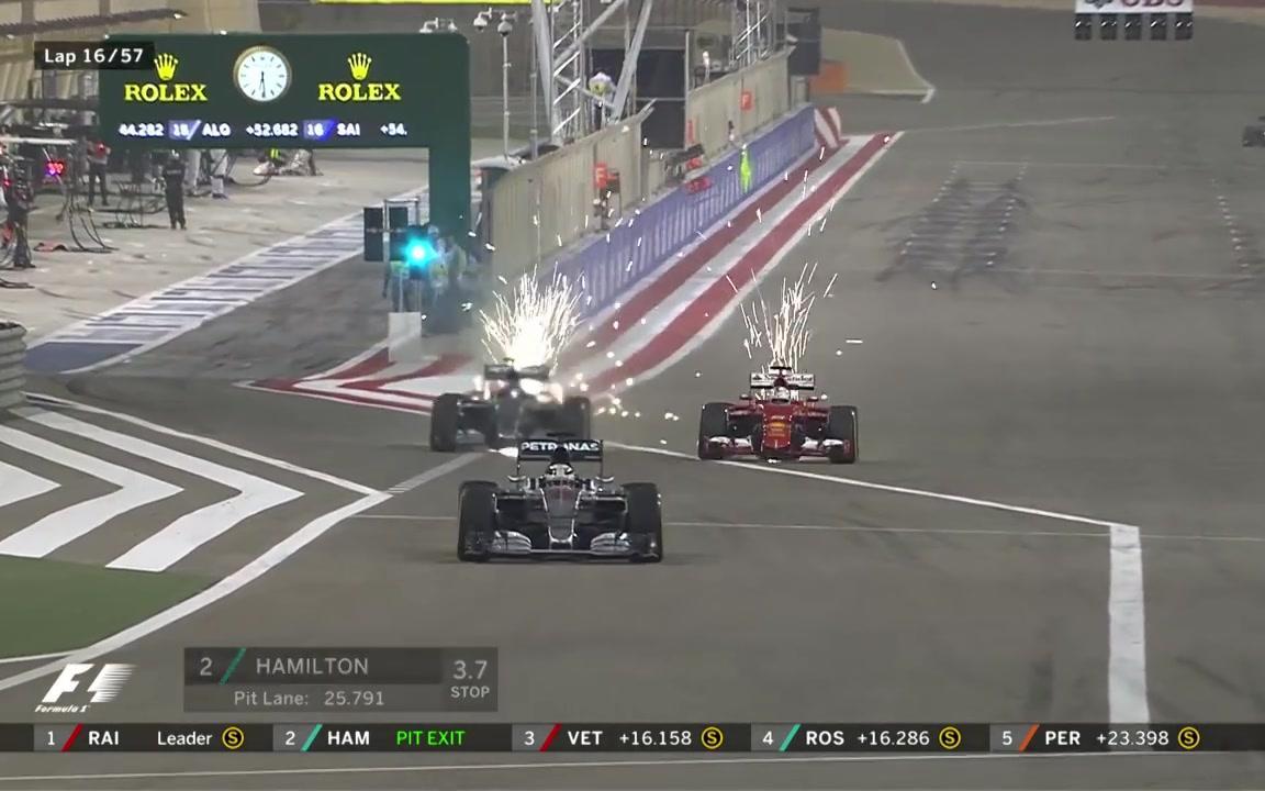 【F1】法拉利与梅塞德斯的缠斗 | 2015年F1巴林站