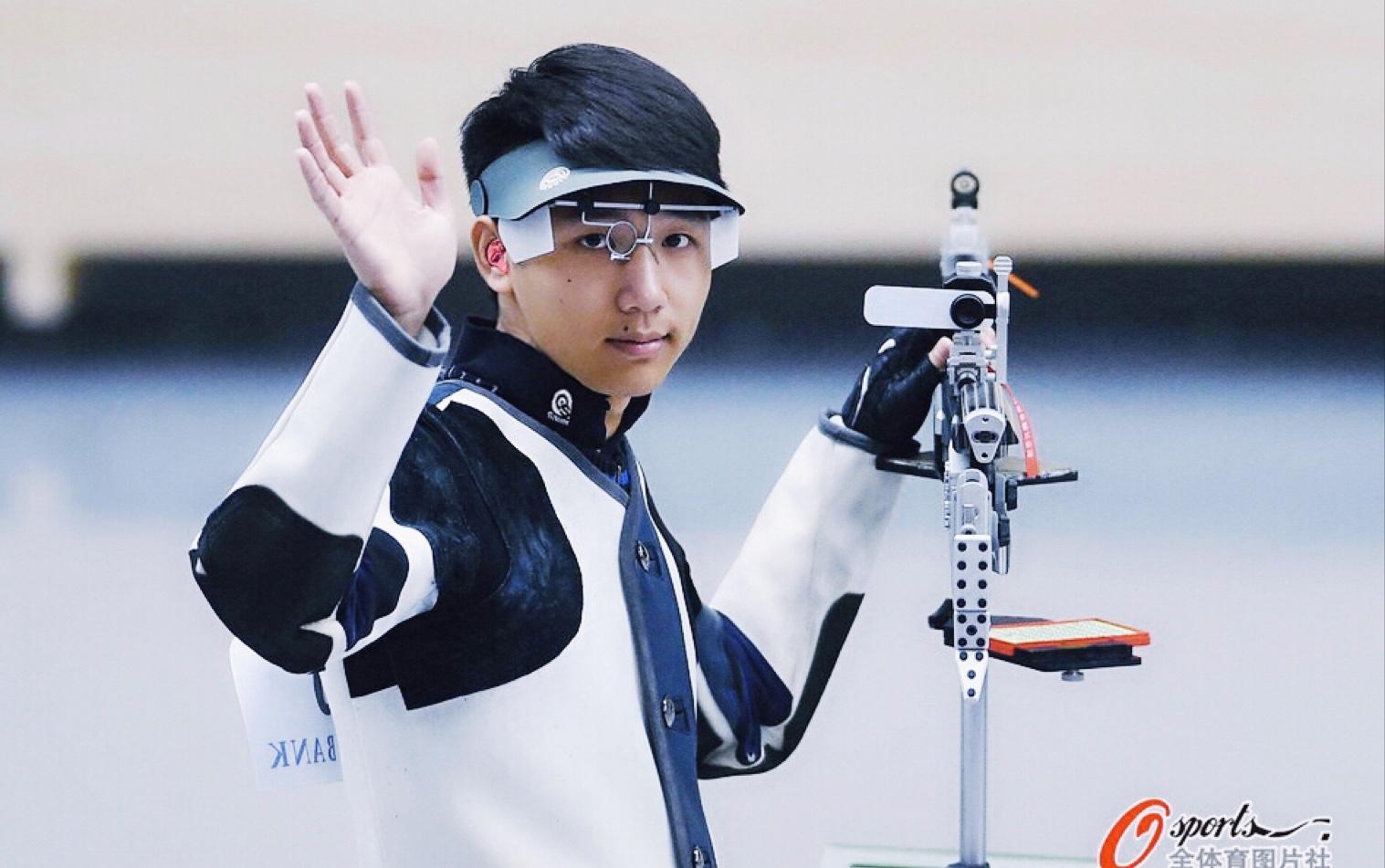 2014年仁川亚运会射击男子10米气步枪决赛