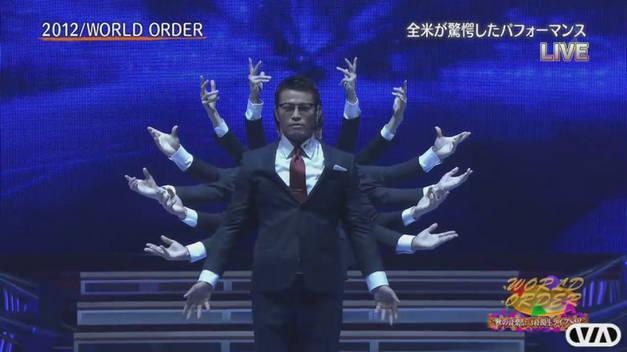 【须藤元気领军-World Order】PERMANENT REVOLUTION live 版20121030