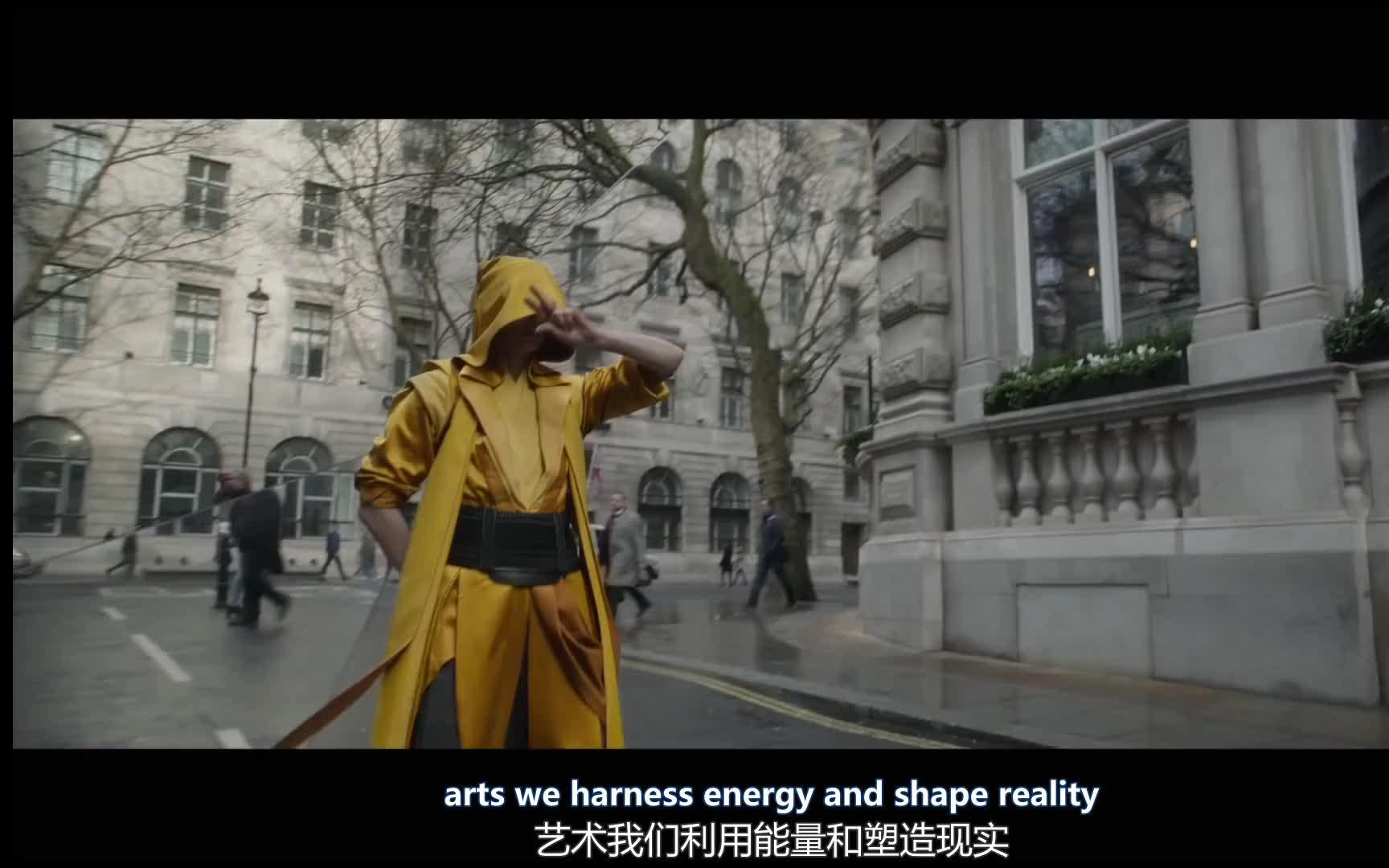 华为和漫威合拍的广告《和华为一起探索漫威魔法世界》