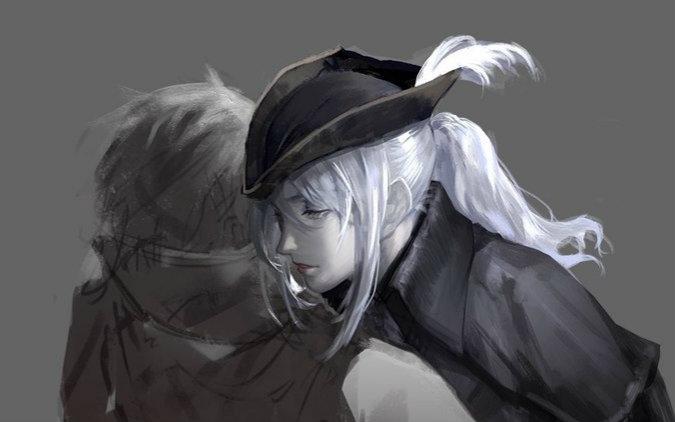 欧顿墓,会看到鸟姐跟个猎人打斗,帮鸟姐杀了他就行血缘诅咒开启教堂图片