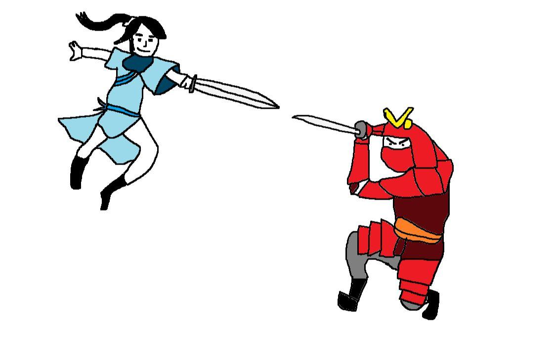 中國道長VS日本武士