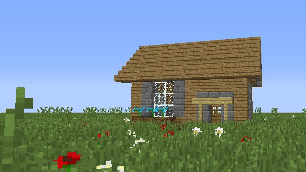 【Minecraft】我的世界新手向实用生存小木屋