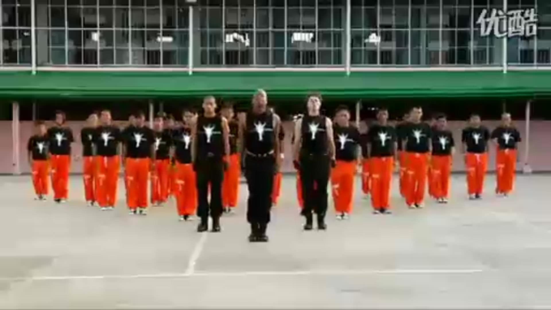 精典!震撼!菲律宾500名囚犯大跳天王迈克尔杰克逊MJ经典单曲!_标清