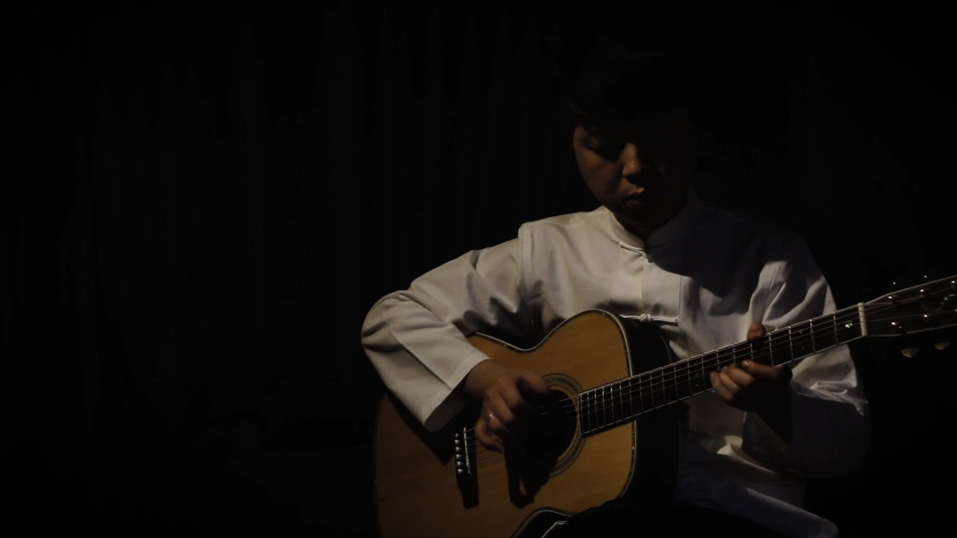 【指弹】原创中国风指弹吉他曲枫叶城第二乐章《又见枫叶城》by杨昊昆图片