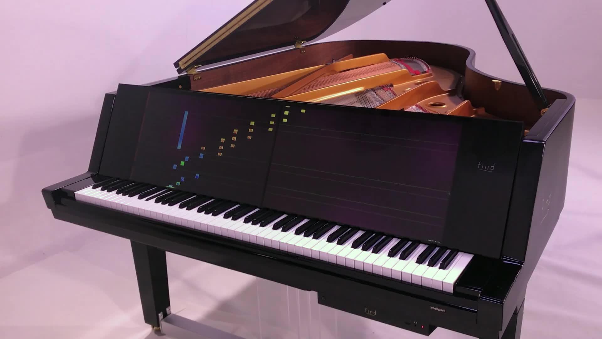 还可以这样操作 威尼斯之旅 find智慧钢琴自动演奏图片