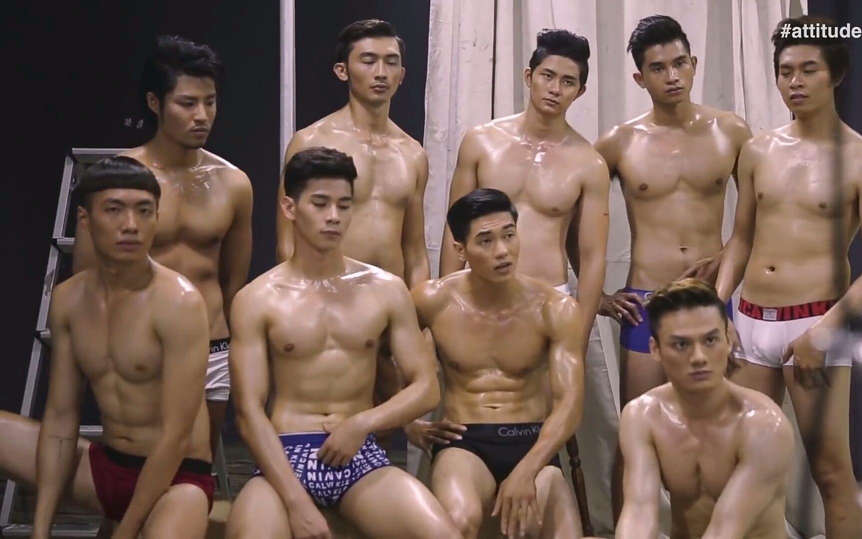【越南】男模拍摄同志杂志《attitude图片