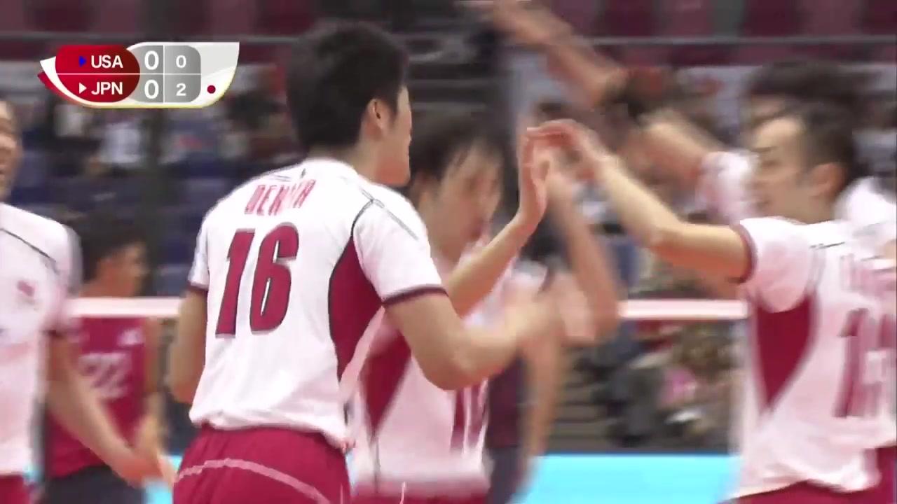 FIVB 2015 World Cup - USA vs Japan  Men's Volleyball Highlights