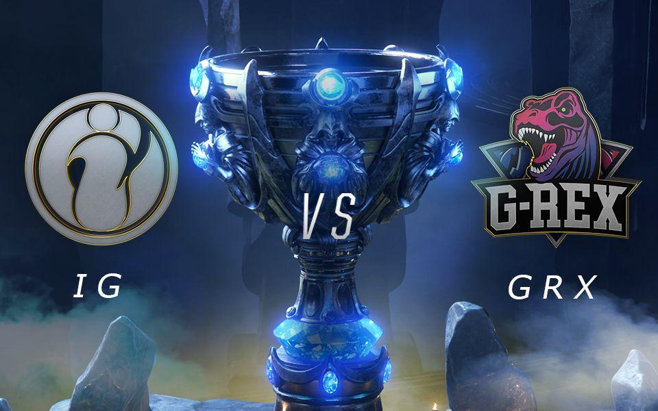 [2018全球总决赛] 10月11日 IG vs GRX