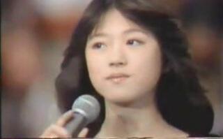 【1981年】16岁中森明菜参加选秀节目《明星诞生》