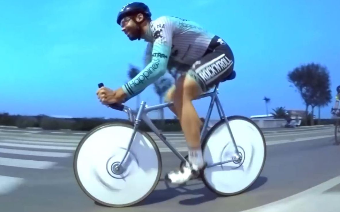 【fixed gear】死飞短片road cyclist smashed by cinelli