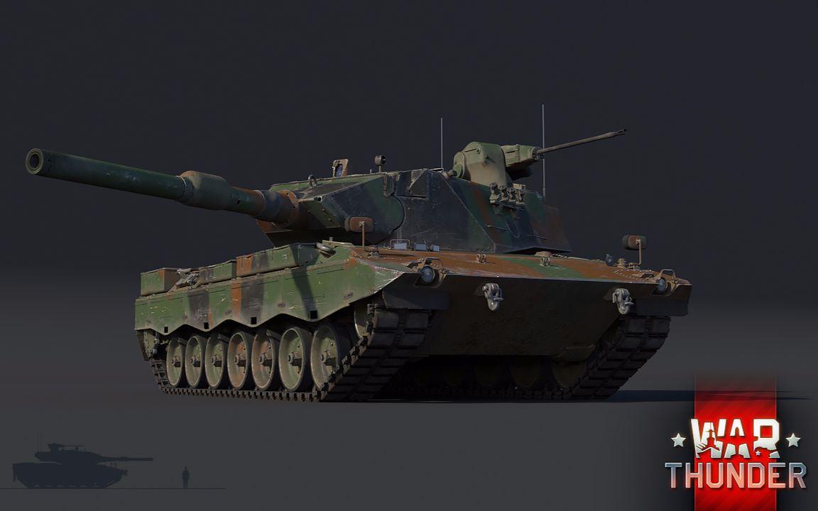 warthunder|战争雷霆 - 德国 leopard