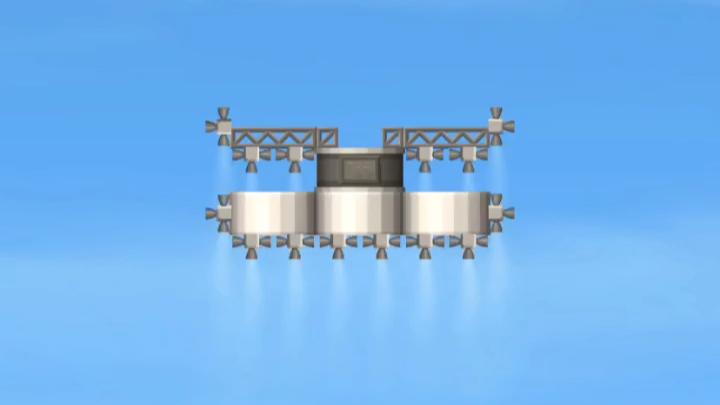 (航天模拟器):首艘蒸汽火箭图片