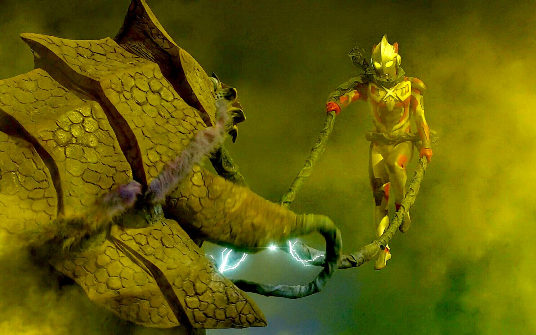 《静止的怪兽》这一定是致敬奈克瑟斯和高斯!艾克斯奥特曼vs不动怪兽 法奥琳加