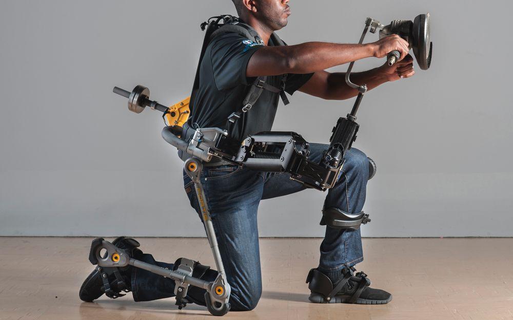 点赞 youtube 零能耗无动力外骨骼结构,手臂部分为equipois公司zero g图片