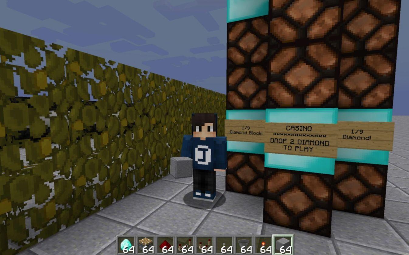 Minecraft红石教学42 | 吃角子老虎机