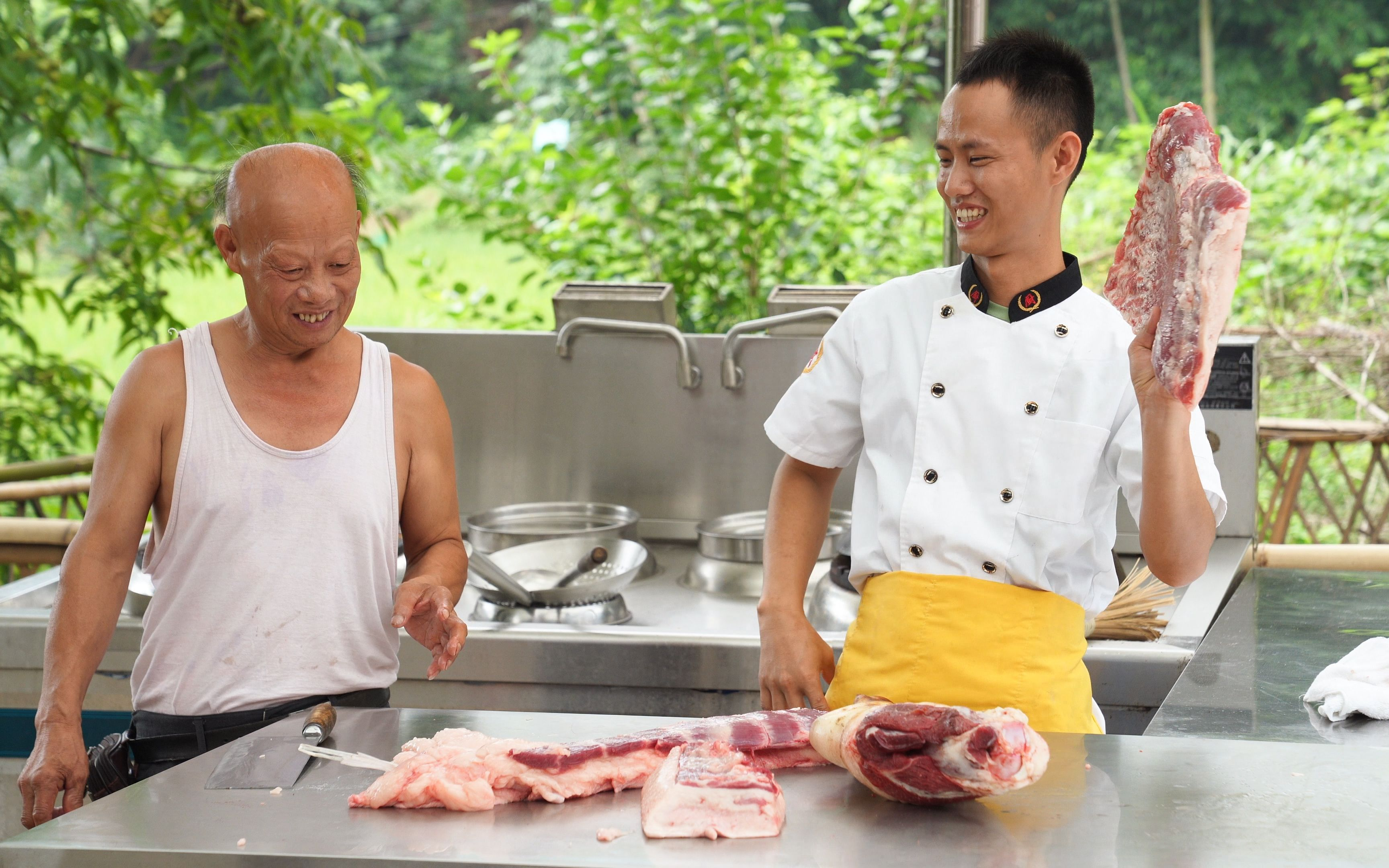 """厨师长联合屠夫分享:""""如何识别老母猪肉""""的硬核小知识"""