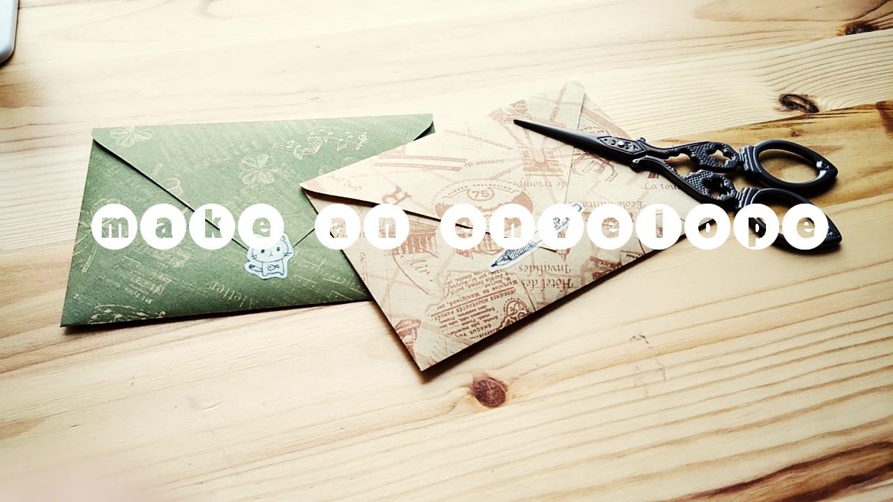 【颜颜】做个装素材的小信封吧~(新手向)