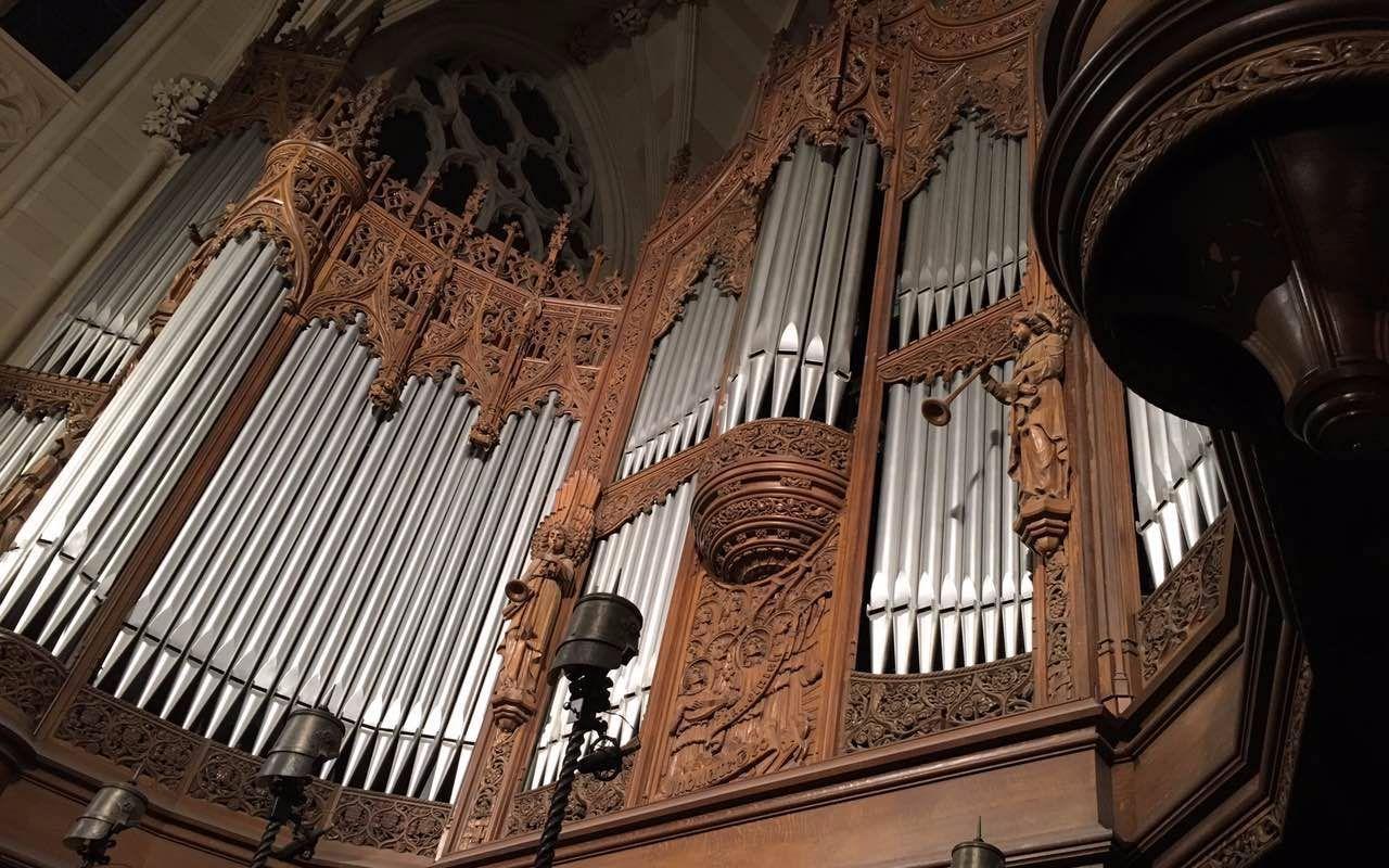 【管风琴】梅西安-神在我们之间-la nativité du seigneur图片