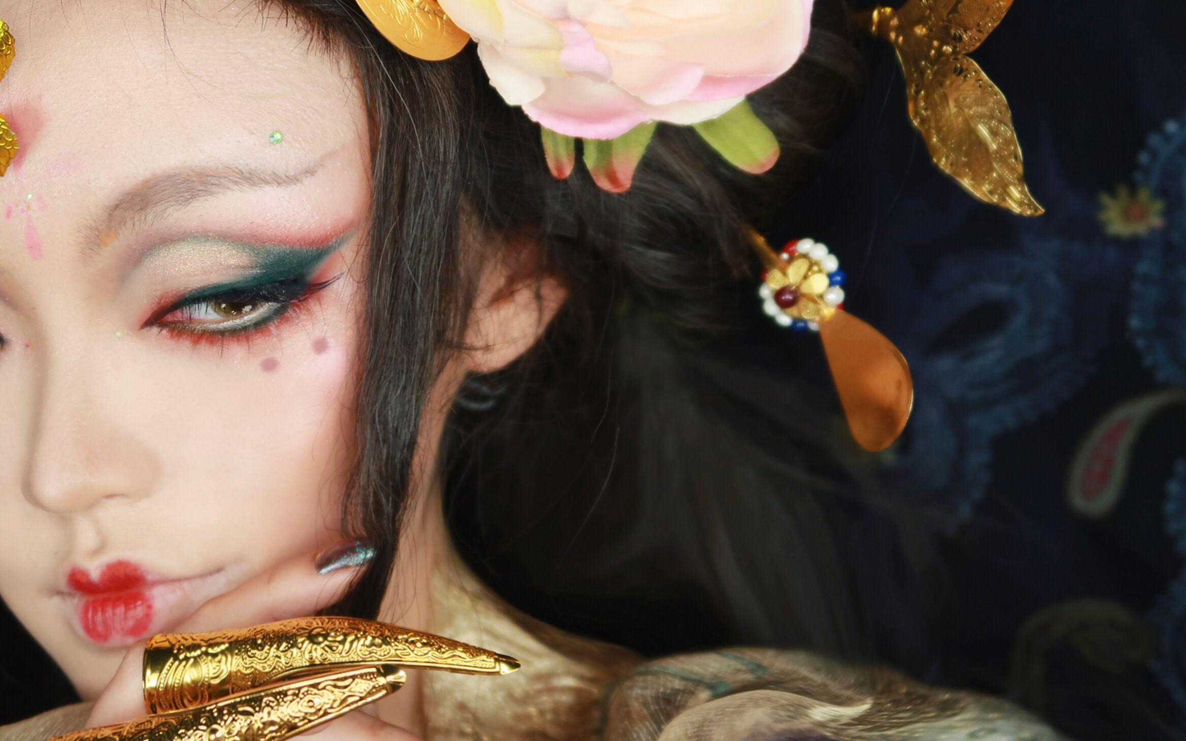 【Kylin柒七】四大美人杨玉环——羞花 云想衣裳花想容 春风拂槛露华浓