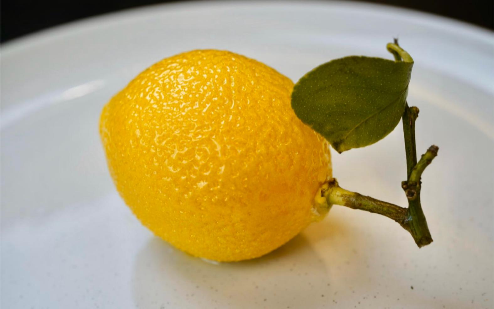 龙吟柠檬【这真的不是柠檬,完美还原柠檬分子料理】