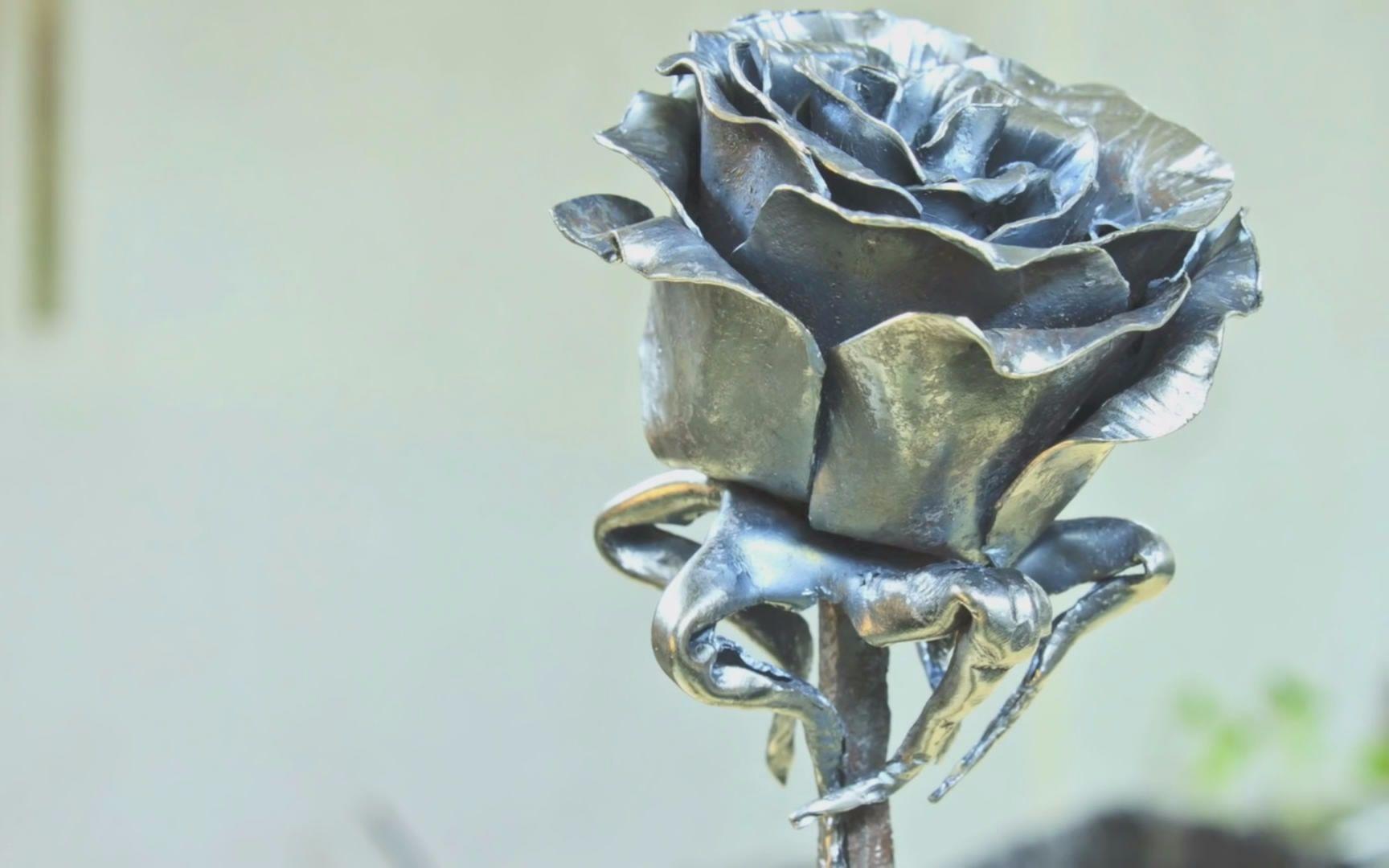 【铁匠】做一朵铁玫瑰